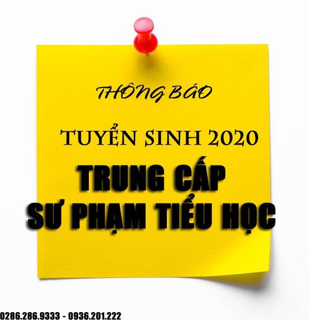 TRUNG CẤP SƯ PHẠM TIỂU HỌC CHÍNH QUY TPHCM 2020 | VHVL