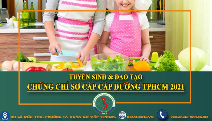 CHỨNG CHỈ CẤP DƯỠNG trường học tại TPHCM 2021