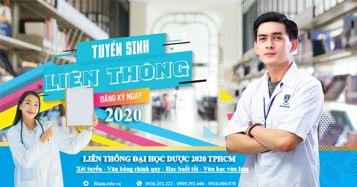 liên thông trung cấp Dược lên đại học Dược tại tphcm 2020
